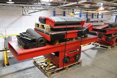 Used Incline Belt Conveyor - Price Includes VAT (Please See Drawing) 850 x 5400