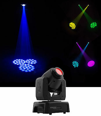 Chauvet Intimidator Spot 110 Compact LED Moving Head Beam Gobo DMX Party Light