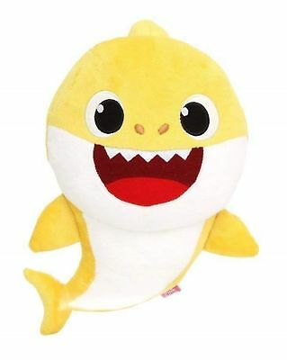Pinkfong WowWee Yellow Baby Shark Singing Plush Doll English IN HAND Authentic