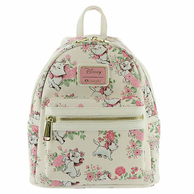 74da1c2892a LOUNGEFLY DISNEY ARISTOCRATS Marie Mini Backpack White Pink -  61.00 ...