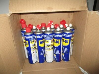 Job Lot 11 x Trade Size 600ml Cans WD-40 Multi-Use Lubricant Spray 44116 Q3GY#