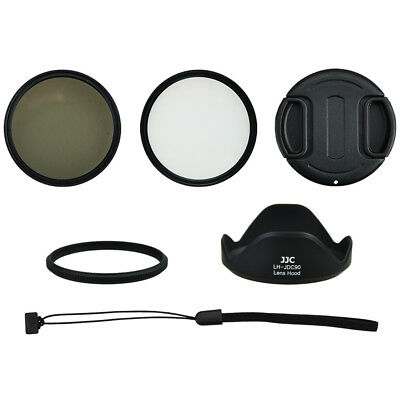 58mm Accessory Set for Canon Powershot SX60 Hs (6 Teilig) with Adapter