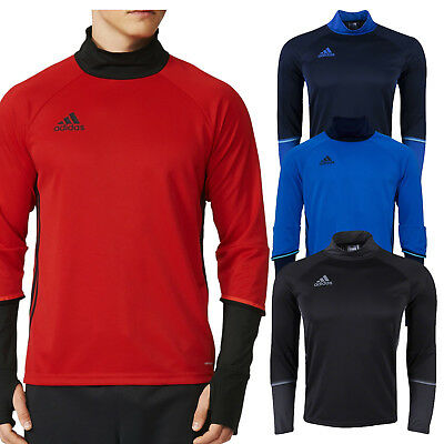 3f040d872 ADIDAS MENS ADIPRO 18 Goalkeeper Jersey Long Sleeve Top Climalite ...