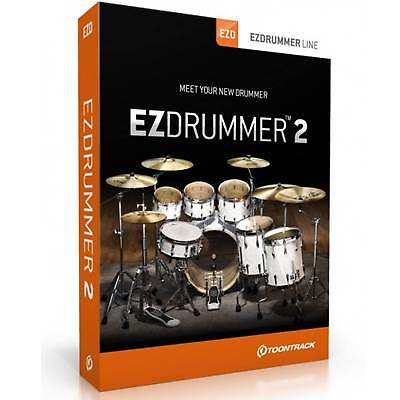 Toontrack EZ Drummer 2 Virtual Drum Software (Boxed Copy) - Free UK Delivery