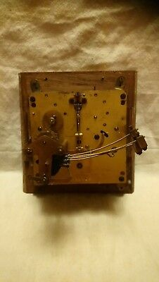 12 cm Haller Clock Movement For Spares Or Repairs