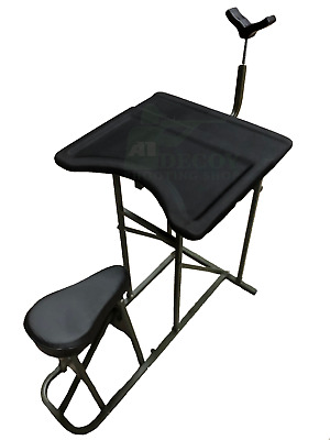 Magnificent Nitehawk Padded Shooting Table Gun Rifle Bench Rest Target Pdpeps Interior Chair Design Pdpepsorg