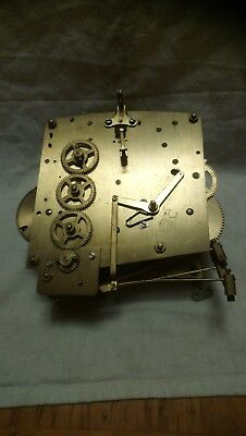 Vintage Perivale British Clock Movement For Spares Or Repairs