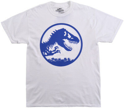 Jurassic World Movie T-Shirt Mens Universal Studios White