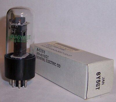 New In Box Jan G.e. 6Y6Gt Beam Power Audio Output Tube / Valve