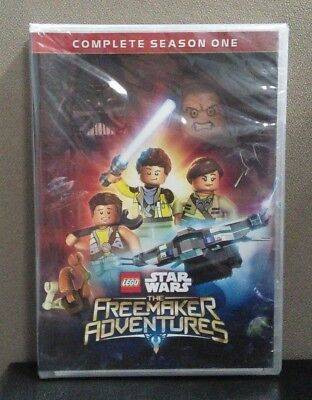 Lego Star Wars: Freemaker Adventures  Complete Season One  (DVD)   BRAND NEW