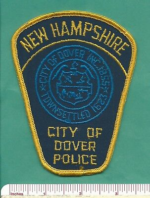 Dover NH State of New Hampshire Law Enforcement Police Patch - Strattford County