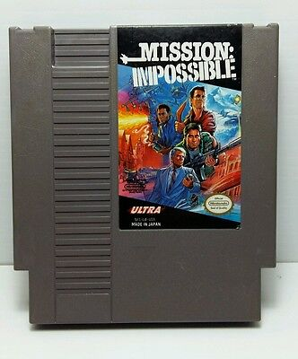 Nintendo NES - Mission Impossible - Working Condition used