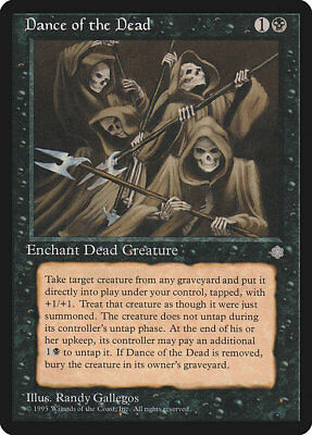 Magic MTG - Ice Age / Eiszeit - Dance of the Dead (engl.) - excellent