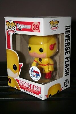 Reverse-Flash - Funko Pop Marvel # 39 Dc Universe - Rare Vaulted - New !!!