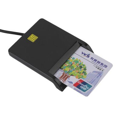 USB Smart Card Reader IC / ID Card Reader Plug And Play For PC Card Adapter PA