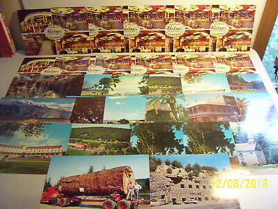 """Lot of 30 Assorted Vintage Unused Giant U.S.Postcards ( 6"""" x 9"""" ) With Duplicate"""