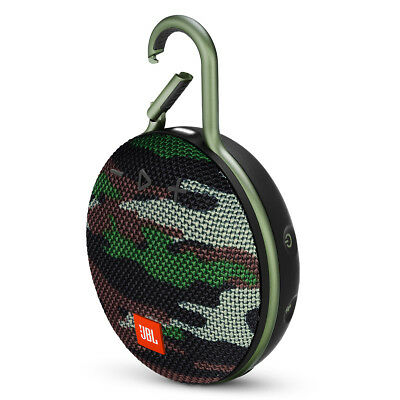 JBL Clip 3 Portable Bluetooth Waterproof Speaker (Camouflage)