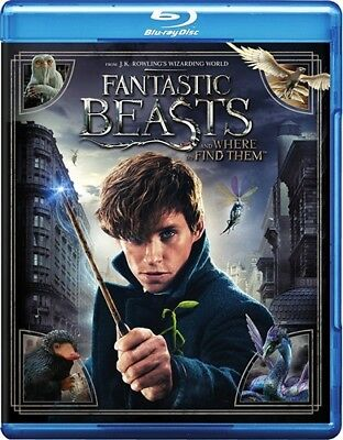 FANTASTIC BEASTS AND WHERE TO FIND THEM New Sealed Blu-ray