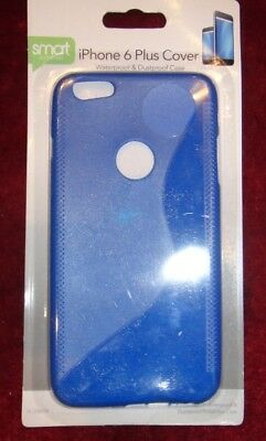 Transparent Clear Silicone Slim Gel Case and Screen Protector for iPhone 6 Plus