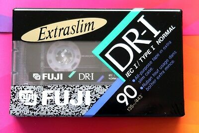 Fuji Dr-I 90 Normal Position Type I Blank Audio Cassette Tape