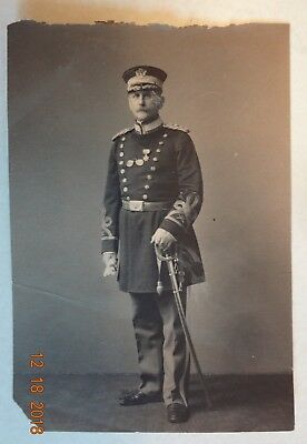 Turn Of Century Us Army Calvary Officer With Sword Photo