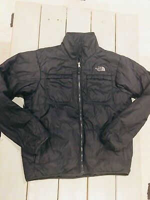 Mens Black The North Face Reversible Puffer Jacket Medium EXCELLENT