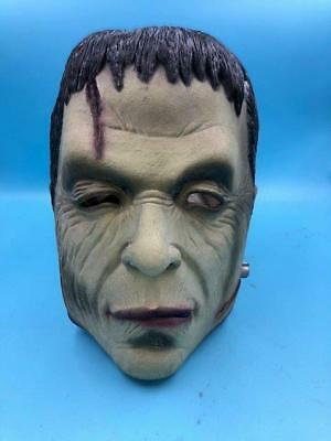 1998 Universal Studios FRANKENSEIN Officially licensed RUBBER Mask - Exc Cond