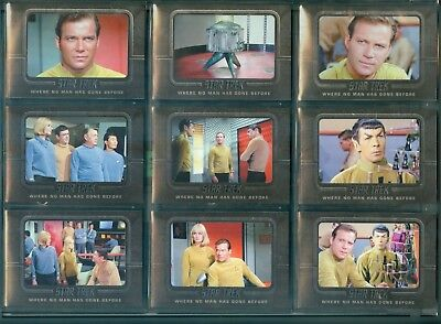 STOS Captain's Collection 70 Card Where No Man Has Gone Before Uncut Set
