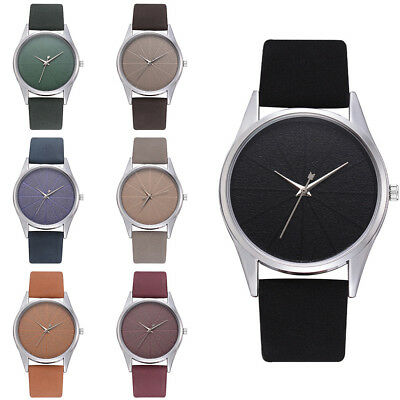 Fashion Leather Strap Quartz Casual Luxury Women's Ladies Daily Wrist Watches