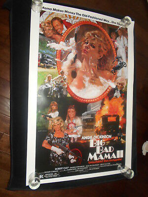 Big Bad Mama II  Angie Dickinson Original Rolled One Sheet Poster