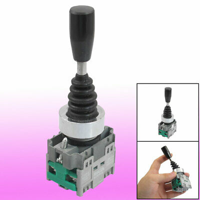 AC 400V 10A Two Normal Open Latching 22mm Fixing Hole Joystick Switch