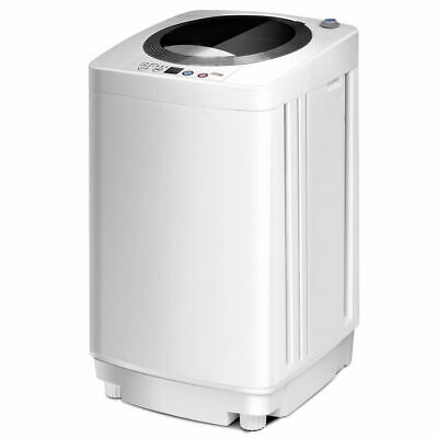 Full-Automatic Laundry Wash Machine Washer Spinner W/ Drain Pump