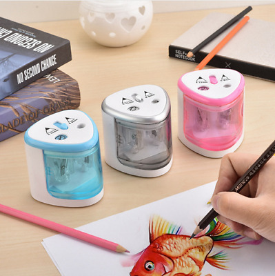 Electric Pencil Sharpener Cutter For Kids Office Professional Artists Automatic