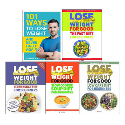 101 Ways to Lose Weight For Good Blood Sugar Diet 5 books collection NEW
