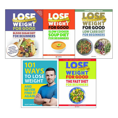 Lose Weight For Good Blood Sugar Diet 101 Ways 5 books collection NEW
