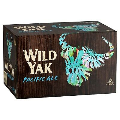 Wild Yak Pacific Ale Beer Case 24 x 375mL Cans