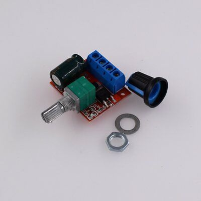 PWM DC Motor Governor Speed Controller Switch Function LED Dimmer ModuleQC PA
