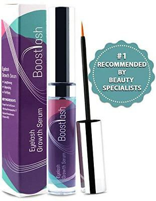 Eyelash & Eyebrow Growth Serum by Boostlash (5ml) Grows Longer Thicker Fuller