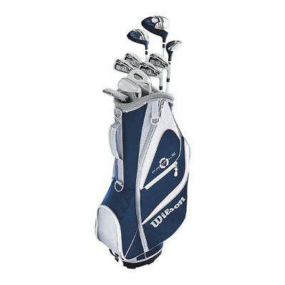 Wilson Profile XD Women's Right Handed Complete Golf Club Set with Cart Bag