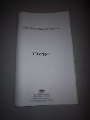 1996 Ford Cargo CF7000 CF8000 CFT wiring diagram schematic SHEET service manual