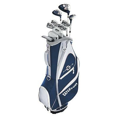 Wilson Profile XD Womens Left Handed LH Complete Golf Club Set with Carry Bag