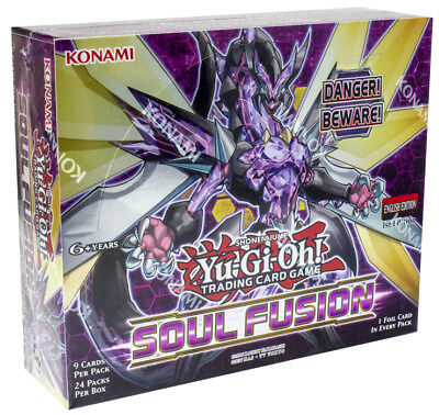 Soul Fusion 1st Edition Booster Box English New Factory Sealed Yugioh Yu-Gi-Oh