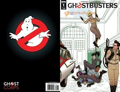 Ghostbusters Crossing Over #1 2 3 4 5 6 7 8 1St Prints Vf/nm Idw Comics