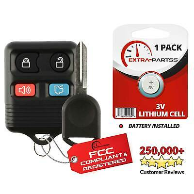 For 2010 2011 2012 2013 2014 ~ Ford Mustang Keyless Entry Remote Fob + 80 Key
