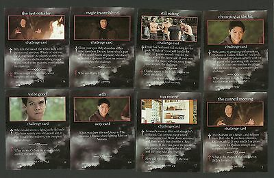 Gil Birmingham Twilight Saga Fab Card LOT Chaske Spencer Boo Stewart Werewolves