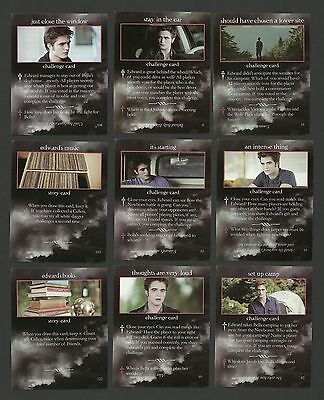 Robert Pattinson in Twilight Film Saga Fab Card Collection Edward's Room