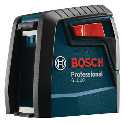 Bosch GLL 30P Self Leveling Cross Line Laser for Home Improvement Projects