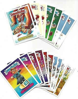 Topps Garbage Pail Kids 2016 Not-Scars 18 Card Complete Set 1-9.. A and B MINT