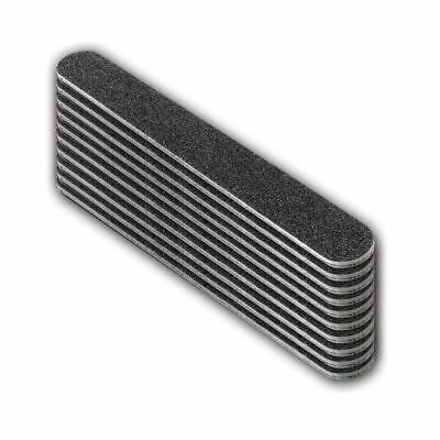 The Edge Duraboard File 240/240 Grit files black straight nail buffer Pack of 10