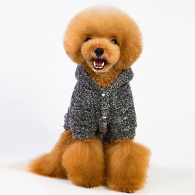 Dog Clothes - Lovely Animal Sloth Bear Type Coral Fleece Pet Hoodie Coat